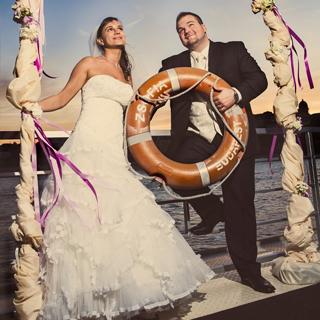 Esküvő a Dunán!